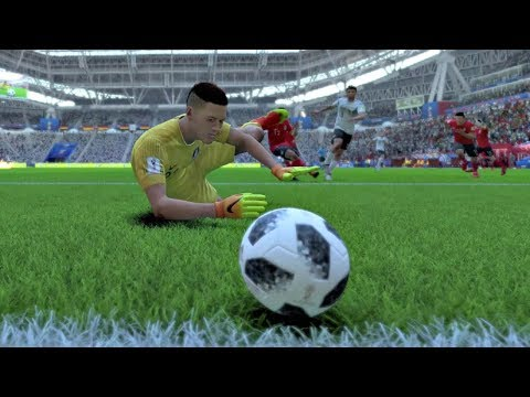 World Cup 2018 - Germany vs South Korea - Group F Full Match Sim (World Cup FIFA 18)