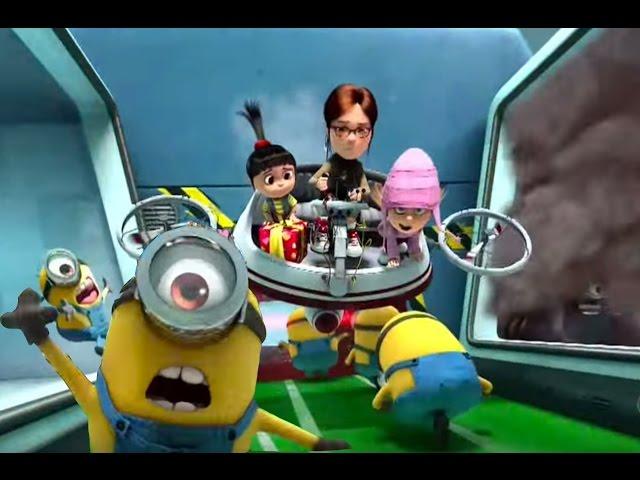 Despicable Me: Minion Mayhem -  Full Ride Through POV -  Universal Studios Hollywood