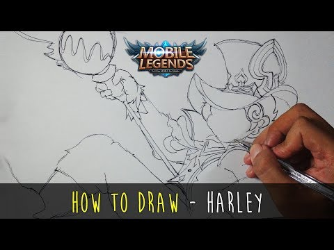 Speed Drawing Harley Mobile Legends