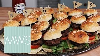 Mini Beef Burgers: Bridal Bites 1