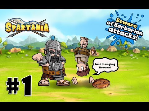 Spartania: The Spartan War Android Gameplay #1 [HD]