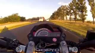 preview picture of video 'YAMAHA FZ 16 en chacabuco...(6).'