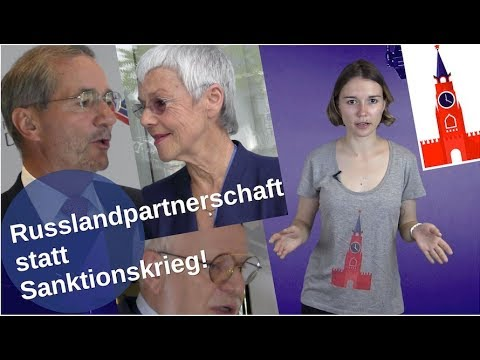 Russlandpartnerschaft statt Sanktionskrieg! [Video]