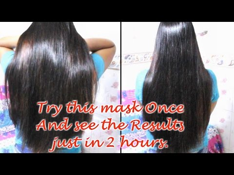 Video Get rid of Dry, Frizzy & Damaged Hair in 2 hours | Hair Growth Treatment & Hairfall control. | DIY