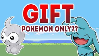 Can you beat Pokémon Emerald using only GIFT POKEMON? (NO ITEMS)