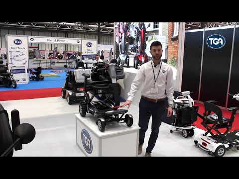 TGA Minimo Autofold - the transportable mobility scooter with powered folding YouTube video thumbnail