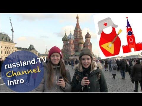 Julia & Anna: Channelintro auf dem Roten Platz [Video]