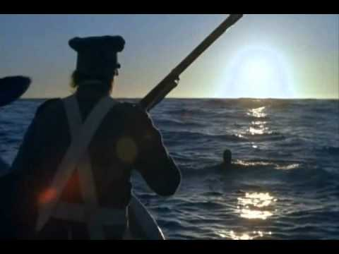 An appearance of the Marines in the movie Amistad