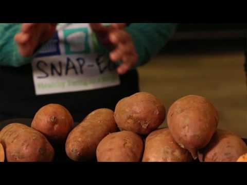 Youtube Screenshot for Tips for buying Sweet Potatoes Video