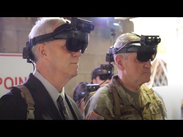 Microsoft получила заказ на продвинутые AR-гарнитуры для армии США на  миллиарда