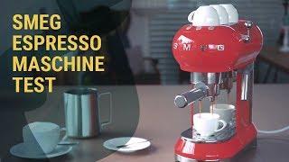 Kleiner Power Siebträger: Die SMEG Espressomaschine im Test