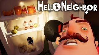 №866: НАБИВАЕМ ХОЛОДИЛЬНИК ЕДОЙ СОСЕДА В ПРИВЕТ СОСЕД БЕТА 3(Hello Neighbor Beta 3)