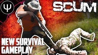 SCUM — NEW Survival Gameplay Analysis (Open World Zombie Survival Game)!