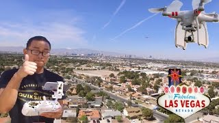 FLYING MY FIRST DRONE IN LAS VEGAS !!!!!