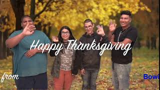 Happy Thanksgiving from Bowie HS