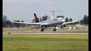 preview picture of video 'Lufthansa Airbus A330 Landing at Abuja International Airport'