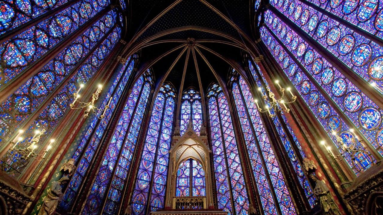 chapel, church, catholic, sainte, chapelle, paris, france, Sainte-Chapelle