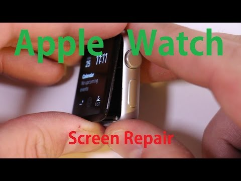 Apple Watch Screen Fix And Battery Replacement Repair Video