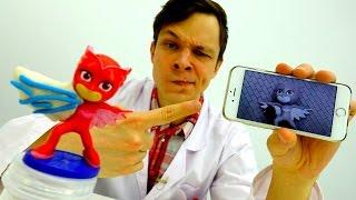 Игры с доктор Ой - Герои в масках: Алетт сломала крыло