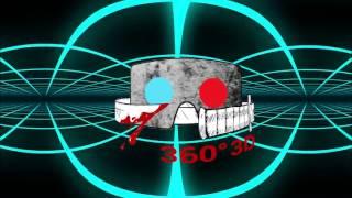 Tron - Like 360° 3D VR