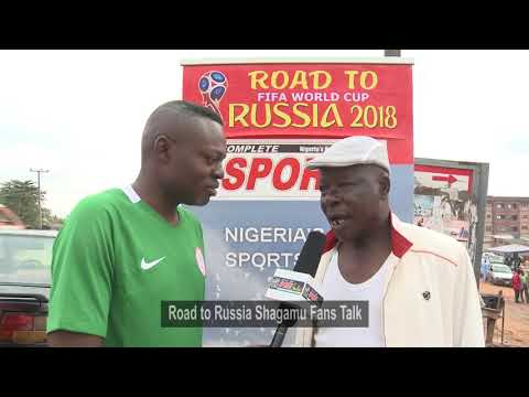 ROAD TO RUSSIA 2018: Shagamu Fans join the trip