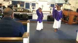 Zacardi Cortez 'God Held Me Together' by Little Grice Angels Praise Dance