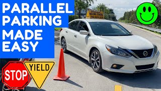 HOW TO PARALLEL PARK FOR BEGINNERS (PARALLEL PARKING)