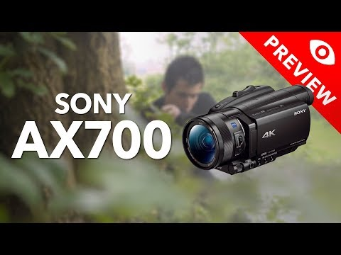 Hands-on Preview Sony AX700 - Kamera Express