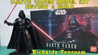 Plastic Model Kit Review and Build Bandai Star Wars Darth Vader
