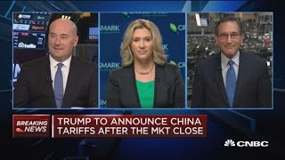 Closing Bell Exchange: Stocks down on tariff uncertainty