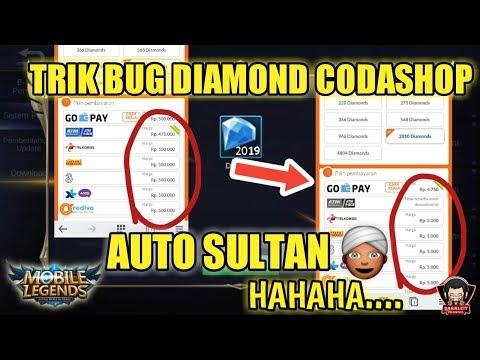 TUTORIAL TERBARU BUG DIAMOND MOBILE LEGENDS DI CODASHOP 2019 - AprilMop