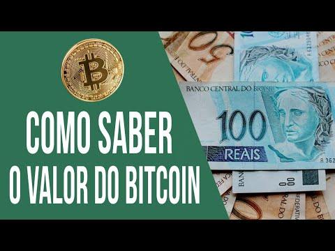Saiba o VALOR do Bitcoin AGORA em Reais || Valor do Bitcoin em tempo real