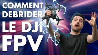 Comment DEBRIDER le DJI FPV: modification de la puissance d'émission - Hack EU / FCC