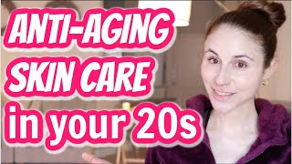 Anti-aging skin care to start in your 20s| Dr Dray