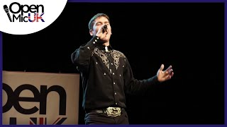 YOUR MAN – JOSH TURNER performed by JOE BOYLE at Open Mic UK singing contest