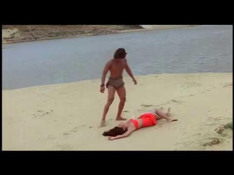 Hemant Birje And Kimi Katkar  - Tarzan - Hindi Bollywood Movie Scene - Best 80's Movie
