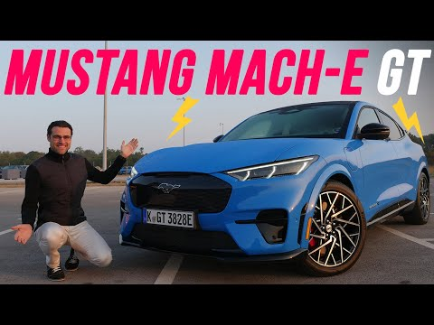 Ford Mustang Mach-E GT Performance REVIEW - my new favorite EV 🤩 ?