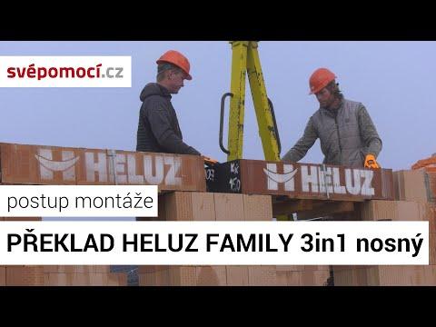 Montáž překladu Heluz Family 3in1 nosný