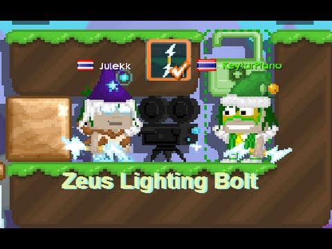 Video Growtopia - Making Zeus Lighting Bolt Ft : Julekk