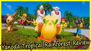 Yanoda Rainforest Cultural Tourism Zone, Sanya, Hainan Review. Travel of China Vlog