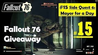 Fallout 76 - Mayor for a Day - Reach Mayor Office - Find Saboteur Hideout and clues - Virus holotape