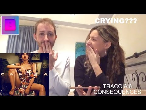 CAMILA CABELLO - CAMILA (Full Album) *EMOTIONAL* ITALIAN 🇮🇹 REACTION [THE BABES]