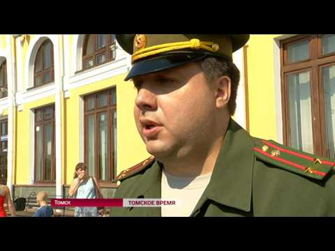 Вторая группа призывников от Томской области пополнит ряды научных рот России