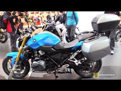 2015 BMW R1200R Low Seat - Walkaround - 2014 EICMA Milan Motorcycle Exhibition