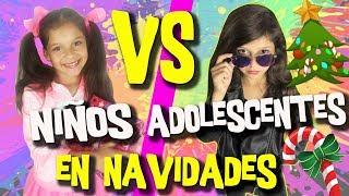 🎄 NIÑOS Vs ADOLESCENTES En NAVIDAD + SORTEO De NAVIDAD Con HOY NO HAY COLE ¡y Muchos Más!