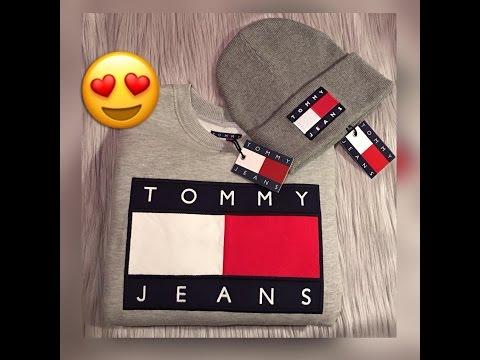❤  TOMMY HILFIGER Jumper and Beanie Hat Unboxing designer clothing ❤❤❤ || Marta In_Vogue_UK