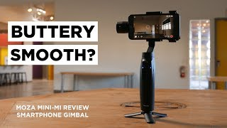Buttery Smooth! Moza Mini-MI Gimbal Review