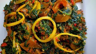 How To Cook Efo Riro With Frozen Spinach