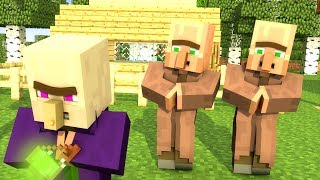 Villager & Witch Life 2 - Minecraft Animation