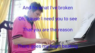 You Are The Reason - Cover Piano